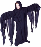 A Thrilling Child's Black Ghoul Costume