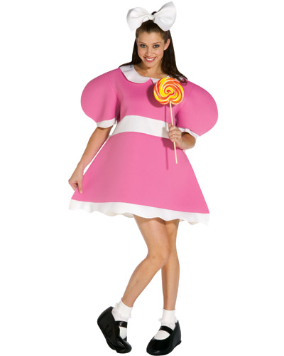 Adult Wind-Up Girl Doll Costume
