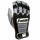Franklin CFX Youth Batting Gloves Black