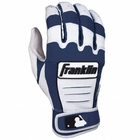 Franklin CFX Youth Batting Gloves Navy/Pearl