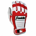 Franklin CFX Youth Batting Gloves Red/Pearl