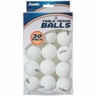 40mm White 1 Star Table Tennis Balls 30 Pack