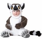 Toddler Plush Lemur Costume