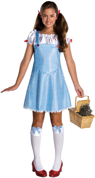 Preteen Wizard Of Oz Dorothy Costume