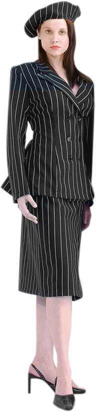Deluxe Women's Bonnie and Clyde Costume