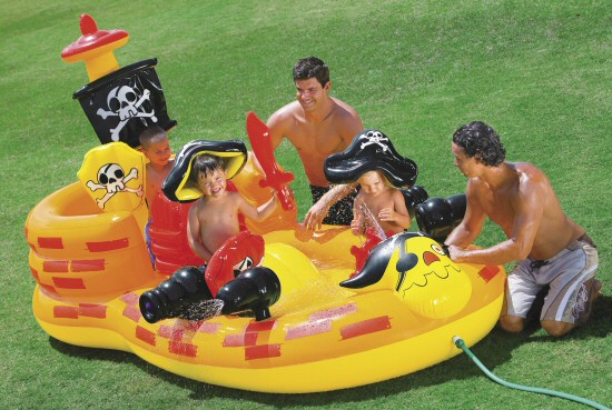 Pirate Hideout Play and Activity Center Pool