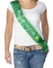Adult Kiss Me I Am Irish Costume Sash