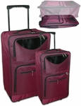 Flat Folding Luggage Set