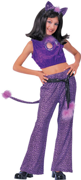 Child's Purple Josie Costume