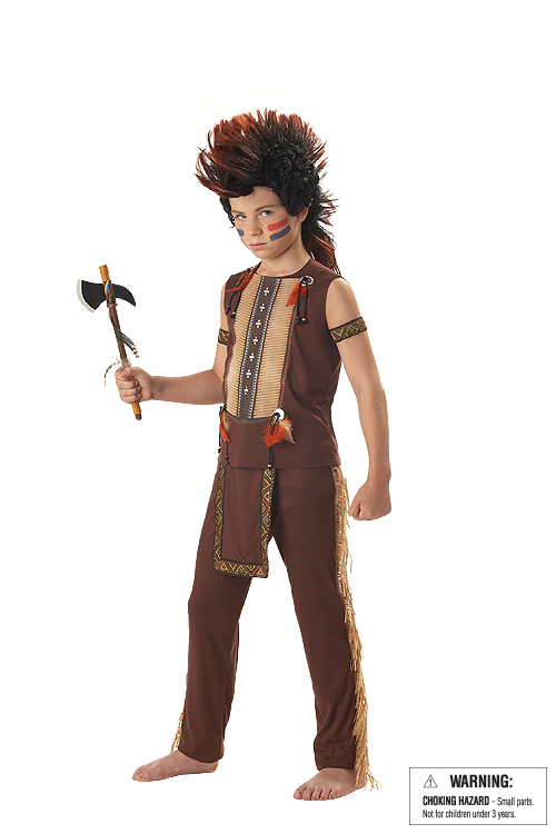 Child's Warrior Indian Costume