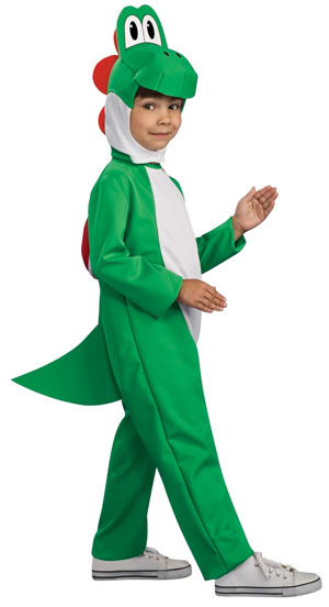 Child's Mushroom Lizard Costume