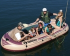 Solstice Voyager 6 Person Inflatable Boat