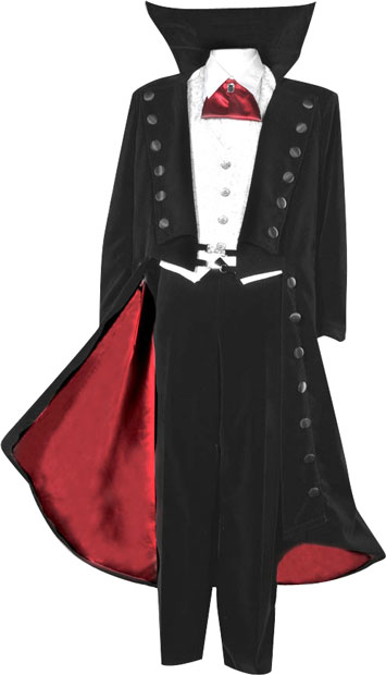 Vampire Theater Costume