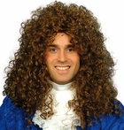Adult Men's Brown Aristocrat Wig