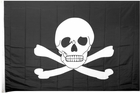 Large 4 x 6 Pirate Flag