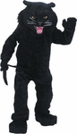 Black Panther Cat Mascot Costume