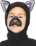Child's Animal Black Cat Costume Kit