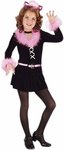 Child's Black Pretty Kitty Costume