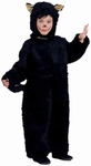 Toddler Plush Black Cat Costume