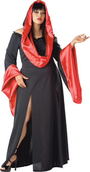 Plus Size Sexy Horror Robe