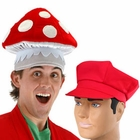 Adult Super Mario Brothers Hats