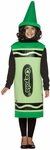 Child's Green Crayola Costume