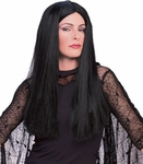 Adult Morticia Addams Wig