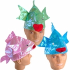 Iridescent Fish Hats