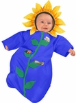 Baby Newborn Sunflower Costume