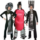 Giant Silverware Costumes