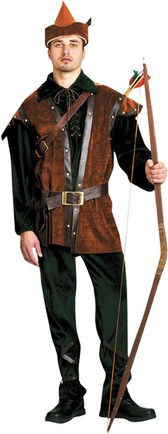 Adult Robin Hood Theater Plus Size Costume