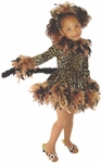 Child's Leopard Cat Dress Costume