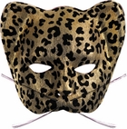 Gold Cat Costume Mask