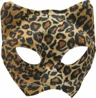 Leopard Cat Costume Face Mask
