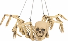 Hanging Spider Skeleton Prop