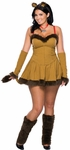 Sexy Plus Size Cowardly Lion Costume