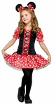 Girl's Little Miss Mouse Costume
