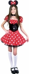 Preteen Cute Little Miss Mouse Costume