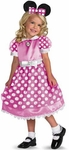 Toddler Pink Minnie Mouse Costume