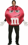 Adult Deluxe M&M Red Character Costume