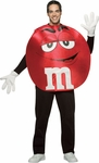 Adult M&M Red Pancho Costume