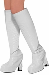 Women's White 60s Go Go Boot Tops