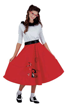 Adult 50's Jitterbug Girl Costume