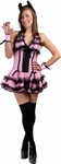 Teen Pink Showtime Kitty Costume