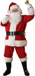Adult Regency Plush Santa Suit