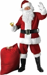 Adult Velvet Santa Claus Costume