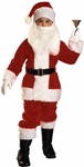 Deluxe Child's Plush Santa Costume