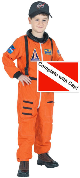 Child's Space Suit Costume