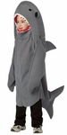 Child Grey Shark Costume