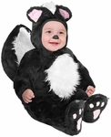 Baby Black Skunk Costume